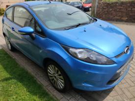 Ford Fiesta Edge MK7 in Blue for Spares or Repair