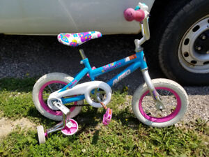 "Sold ppu - Kids 12"" bike with training wheels"