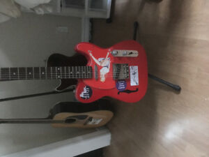 Custom built Fender telecaster