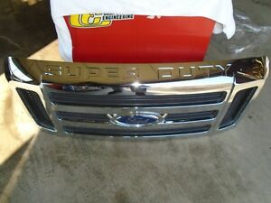 2 OF 2008-2010 FORD SUPER DUTY GRILLES
