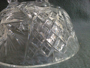 Collectible Antique Crystal Three Footed Bowl London Ontario image 5