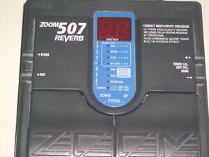 Zoom 507 pedal