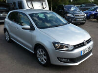 Volkswagen Polo 1.2 ( 60ps ) 2014MY Match Edition silver 31k FSH