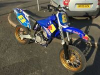 Yamaha YZF 450 Road Legal Supermoto Conversion