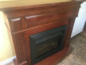 Very cheap electric fireplace working perfectly