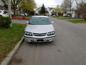 2004 Chevrolet Impala (only 104000 kms)