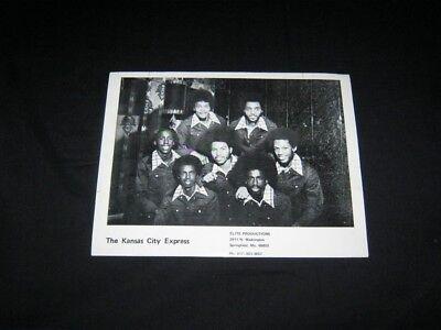 ORIGINAL 1975 KANSAS CITY EXPRESS Publicity Photo CHITLIN CIRCUIT