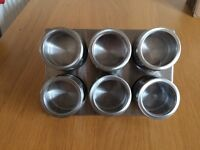 Metal spice/herb holder. Never used.
