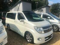 2009 Nissan Elgrand Mistral Camper 4 berth Highway Star 2.5 5 door Motorhome