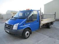 2010 Ford Transit 2.4TDCi Duratorq ( 115PS ) 350EF ( DRW ) 350 LWB approx 14ft