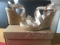 Oasis wedges size 7 (41) £30
