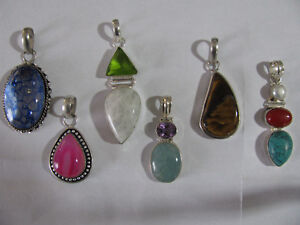 One Pendant / Choose your favorite / All gemstones