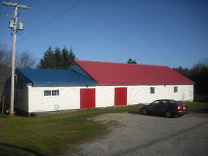 Commercial building with land
