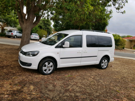 2012 wheelchair accessible VW caddy LOW KMS Como South Perth Area Preview