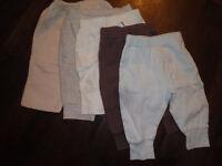 lot de pantalons pour bébé 0- 3 mois