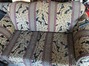 Love seat and chair in great condition