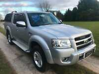 2008 FORD RANGER 2.5TDCi XLT THUNDER PICK UP 4X4 4WD DOUBLE CAB NO VAT