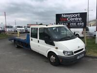 Ford Transit 2.4TDCi ( 137PS ) 350 LONG WHEEL BASE RECOVERY TRUCK DOUBLE CAB