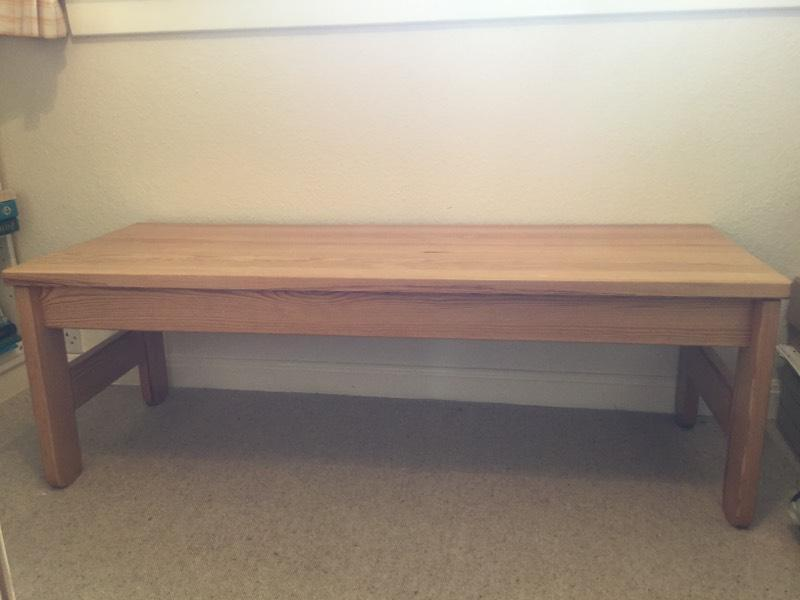 Long Pine Coffee Table in Fairmilehead Edinburgh Gumtree : 86 from gumtree.com size 800 x 600 jpeg 34kB