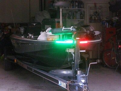 Boat Led Bow Lighting Red   Green Navigation Light Marine Led Bass Boat Kayak