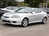 Hyundai Coupe 2.0 SE,, 2005, 63 000 Miles, 1 Years Mot, 6 Months AA Warranty