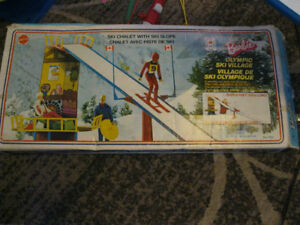 1974 Barbie Olympic Ski Village with Box