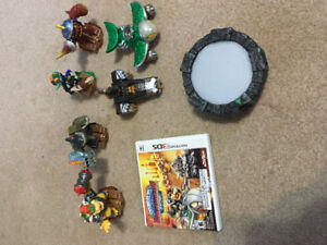 3DS skylander game and characters