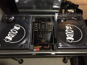 Technics Turntables and Mixer