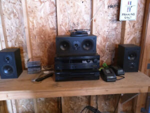 Yamaha Receiver, CD Player and Cerwin Vega Speakers/Sub Woofer