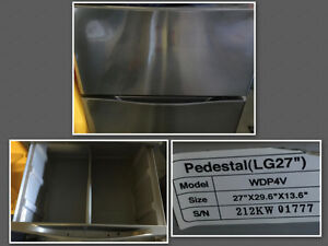 "LG 27"" Washer/ Dryer Pedestals"