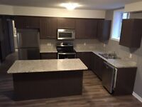 New 3 bedroom lower unit of a duplex