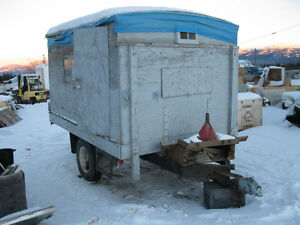14ft heavy duty trailer enclosed