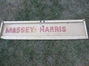 Massey Harris Odds and Ends