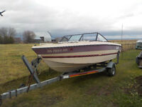 1987 Glasport Bowrider with 115 Johnson