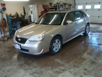 2006 CHEV MALIBU MAXX LT 4DR $3500 TAX IN CHANGED INTO UR NAME