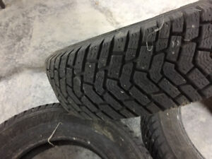 4 winter tires 185/65/R14