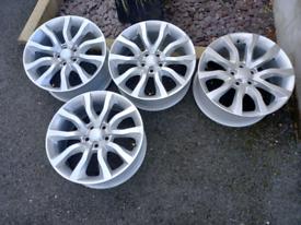 Rangerover alloy wheels 20 inche