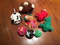 $2- 8 itty bitty (small) dog toys for teacup size