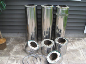 Stainless Steel Insulated Chimney Flue Pieces (MINT)