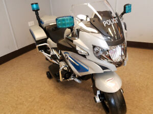"Kids Electric  ""Police"" Bike on Sale- $350 !!!"