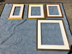 "Various Frames for Artists ""Gallery"" with fabric matting"