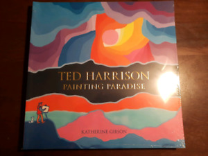 Ted Harrison painting paradise