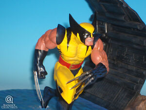 Wolverine Diorama statue by Clayburn Moore