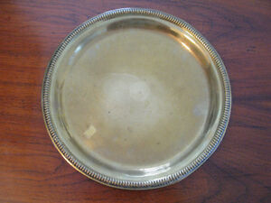 1883 H.J.Turner Brass Brewery Tray from Ashby-de-la-Zouch