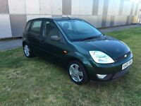 Ford Fiesta Zetec 1.4 petrol 5 door hatchback