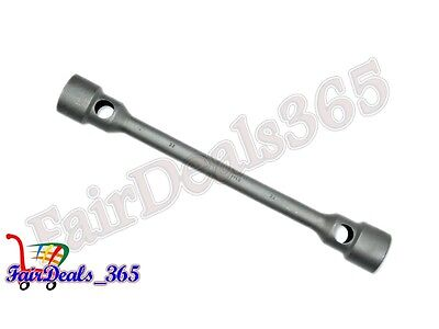 WHEEL SPANNER SOLID BOX TYPE 32X32 DOUBLE ENDED BEST USE AUTOMOTIVE WORKSHOP