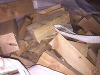 Firewood for sale £30 per tonne bag wood burners