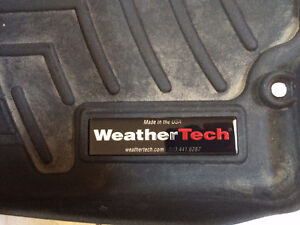 2007-2011 Honda CR-V WeatherTech Front and Rear Floor Mats