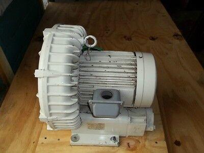 Fuji Vfc605a Side Channel Ring Compressor Regenerative Blower