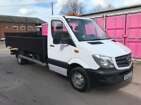 MERCEDES SPRINTER 513CDI LWB TIPPER, 2013REG, 3500KG, FOR SALE, NO VAT